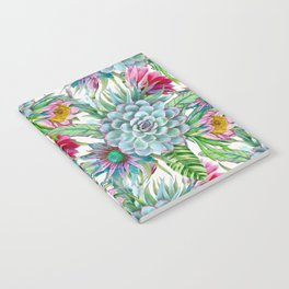 Exotic flower garden Notebook