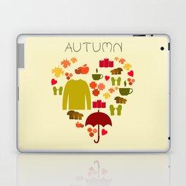 Love autumn Laptop & iPad Skin