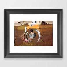 Christina's McWorld Framed Art Print