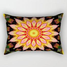 Kaleidoskop Blume Rectangular Pillow