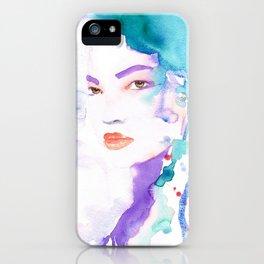 Elina five iPhone Case