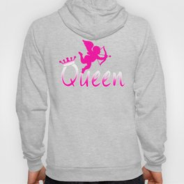 Queen, Cute and Perfect Valentine's day Couple Gift Shirt for Girlfriend,  Wife, Sweetheart Hoody