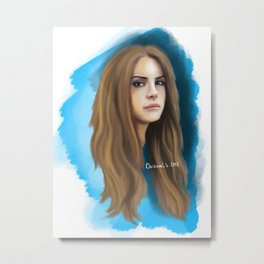 Young and Beautiful Metal Print