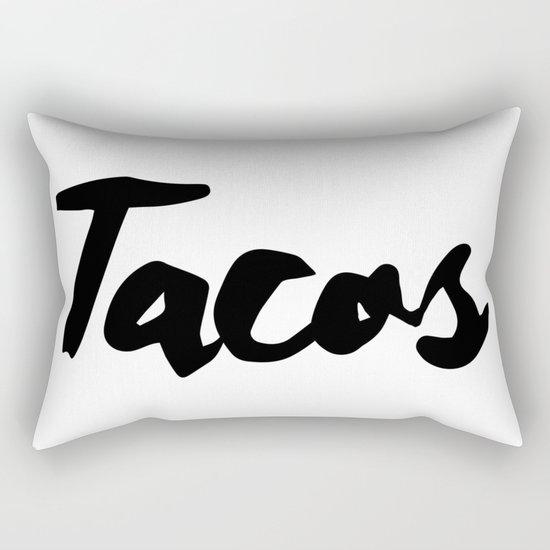 Tacos Rectangular Pillow