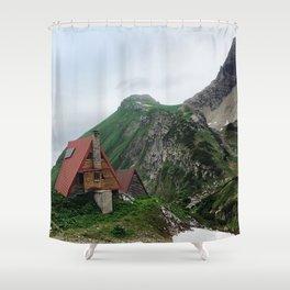 Alpine Pit Stop Shower Curtain