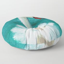 Swan mother Floor Pillow