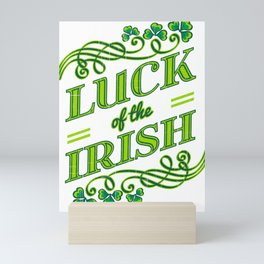 Luck of the Irish Mini Art Print