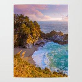Magical Cove, Big Sur II Poster
