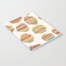 watercolor geometric lines Notebook