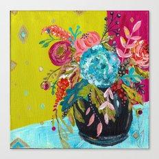 Bouquet Series no. 3 by Bari J. Canvas Print