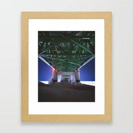 Mackinac Bridge | Mackinaw City, Michigan | John Hill Photography Framed Art Print