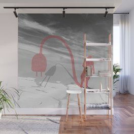Unplug Wall Mural