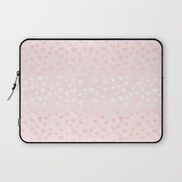 Hearts in light pink Laptop Sleeve