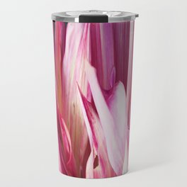 448 - Abstract Flower Design Travel Mug