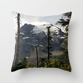 Into the Wild while in Whistler Canada Throw Pillow