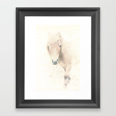 Spirit of a Horse Framed Art Print