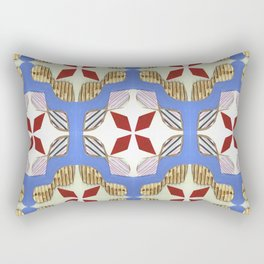 Bow Tie Tile Rectangular Pillow