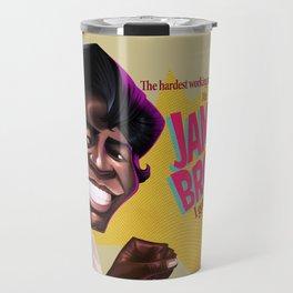 James Brown Travel Mug