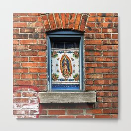 Our Lady of the Window Metal Print