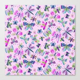 Spring Butterflies Canvas Print