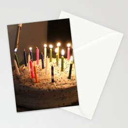 Lighting The Candles Stationery Cards