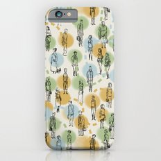 64 Popular People and a Dog (Pattern) iPhone 6s Slim Case