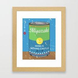 Howl's moving castle - Miyazaki - Special Soup Series  Framed Art Print