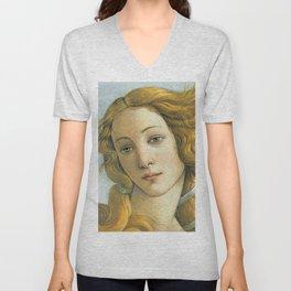 Sandro Botticelli ''The Birth of Venus'' Unisex V-Neck