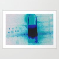 bluelantern Art Print
