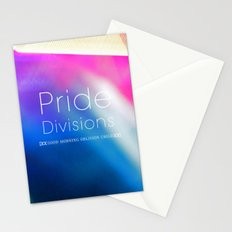 Pride Divisions Stationery Cards