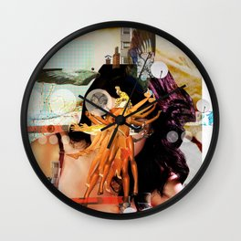 Wild Mountain · Great Balls Of Fire · Detail Variation 1 Wall Clock