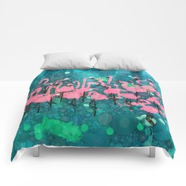 :: Flamingos Among Us :: Comforters