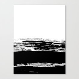 abstract b&w Canvas Print