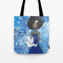 Zeta Angel Tote Bag