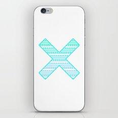 Aztec Cross iPhone & iPod Skin