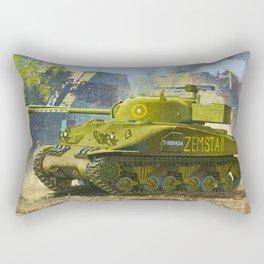 Sherman Tank Rectangular Pillow