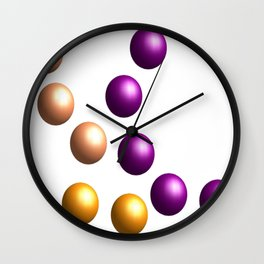 Balls / Kugeln   (A7 B0033) Wall Clock
