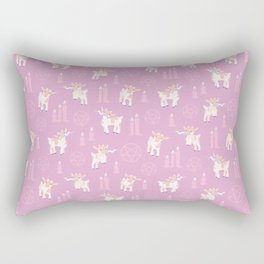 The Kids Are Alright - Pastel Pinks Rectangular Pillow