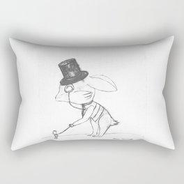 Bankster Bunny Rectangular Pillow