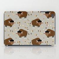 buffalo iPad Cases featuring Buffalo by Heleen van Buul