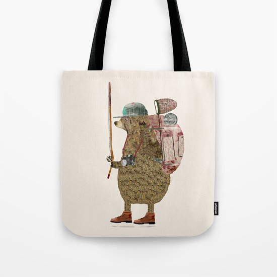 nature bear Tote Bag