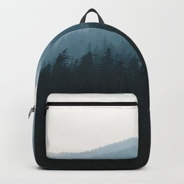 Hazy British Columbia Mountains Backpack