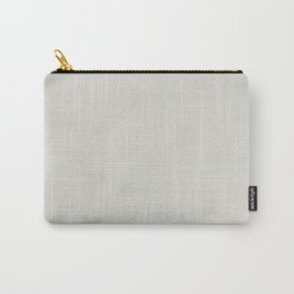 White leather texture Carry-All Pouch