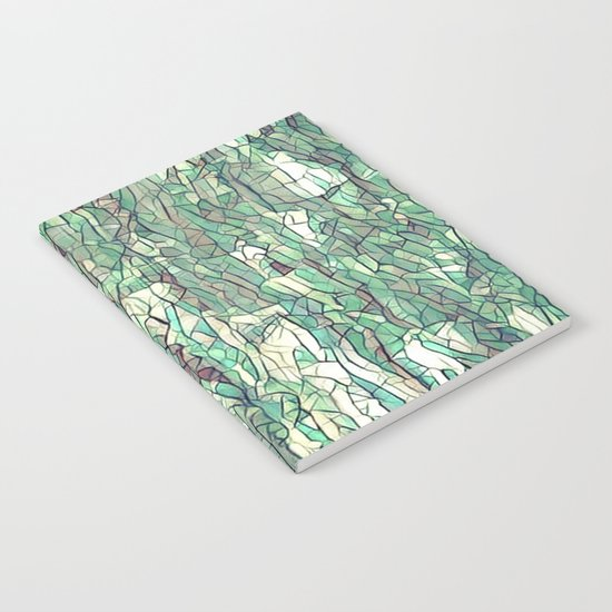 Abstract green Notebook