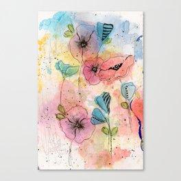 Wild Garden Canvas Print