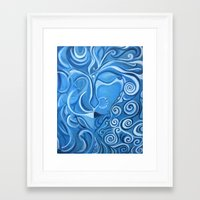 avatar Framed Art Prints featuring AVATAR by ROY'S