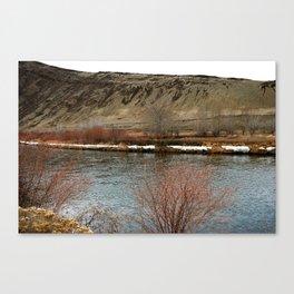 Yakima River Canvas Print