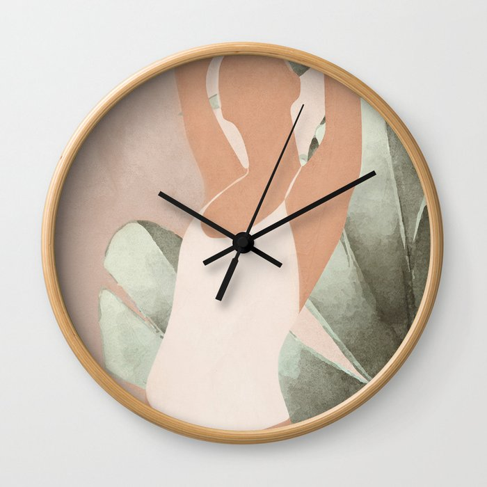 Summer Day II Wall Clock