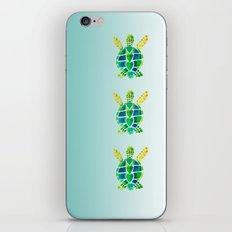 Swimming Baby Sea Turtles iPhone Skin