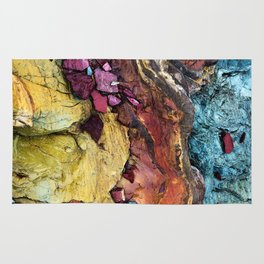Colorful Nature : Texture Rug